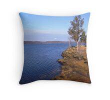 Green River Lake Throw Pillow