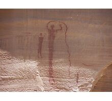 Buckhorn Wash Indian Writing Photographic Print