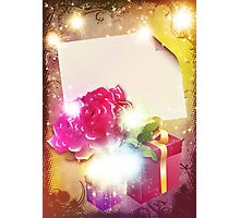 Celebration card Photographic Print