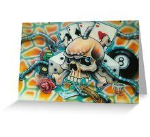 snake eyes Greeting Card