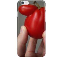 Of Veggie Weenies - Tomato iPhone Case/Skin