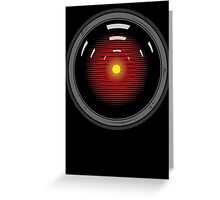 Hal 9000 Greeting Card