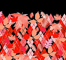 Red Leaves and Classic Argyle by PrivateVices