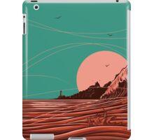 blood waves iPad Case/Skin