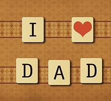 Fathers day tiles by AnnArtshock