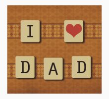 Fathers day tiles Kids Tee