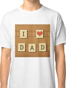 Fathers day tiles Classic T-Shirt