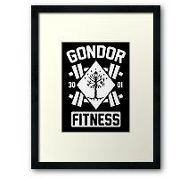 Gondor Fitness Framed Print