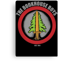 The Bookhouse Boys - Twin Peaks Canvas Print