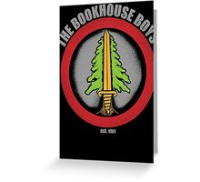 The Bookhouse Boys - Twin Peaks Greeting Card