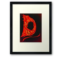 Alpha Series D.1 - Invisible Diva Framed Print