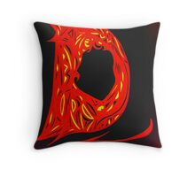 Alpha Series D.1 - Invisible Diva Throw Pillow