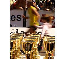 Marathon Effort Photographic Print
