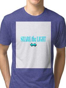 Share the Light Tri-blend T-Shirt