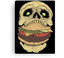 Skullburger Canvas Print