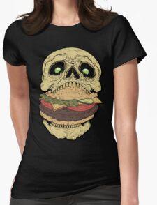 Skullburger Womens Fitted T-Shirt