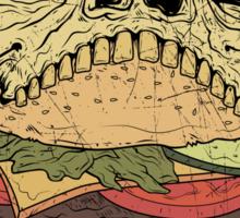Skullburger Sticker