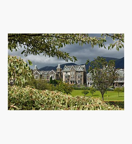 View from Crow Park, Keswick Photographic Print