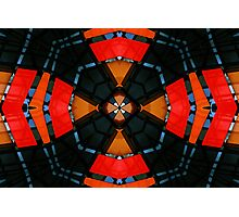 Red Abstract Photographic Print