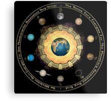 Planetary Ascension Stargate Metal Print