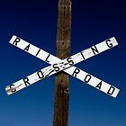 RailRoad Crossing by Brad Sauter