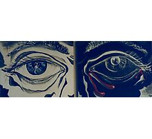 Deep Introspection Diptych (Acrylics)- Photographic Print