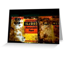 Ilford Even in Antarctica Greeting Card