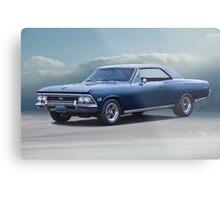 1966 Chevrolet Chevelle SS396  Metal Print