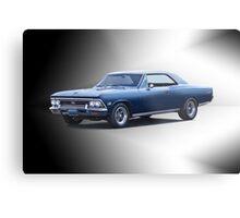 1966 Chevrolet Chevelle SS396 'Studio 2' Metal Print