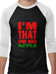 I'M THAT ONE BAD APPLE Men's Baseball ¾ T-Shirt