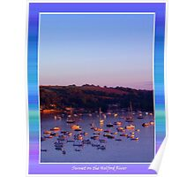 Another Helford Sunset Poster