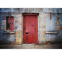 Fort Door Photographic Print