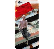 Putin In Space iPhone Case/Skin