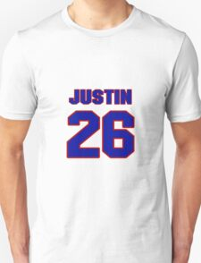 National football player Kerry Justin jersey 26 T-Shirt