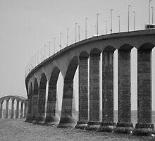 Confederation Bridge by Sandy  McClearn