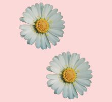 Two white daisies Kids Clothes