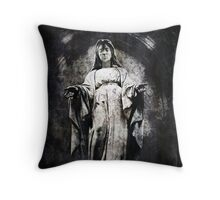 And Always You Stay, Mary Throw Pillow