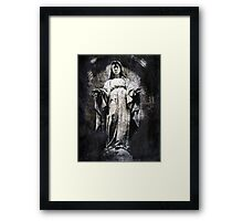 And Always You Stay, Mary Framed Print