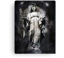 And Always You Stay, Mary Canvas Print