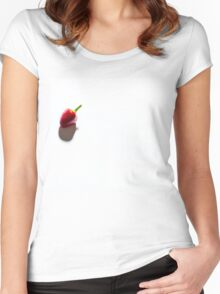 Lonely chilli  Women's Fitted Scoop T-Shirt