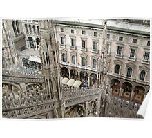 Milan cathedral  Poster