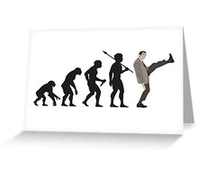 Evolution of Bean Greeting Card