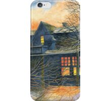 Haunted House 1 iPhone Case/Skin