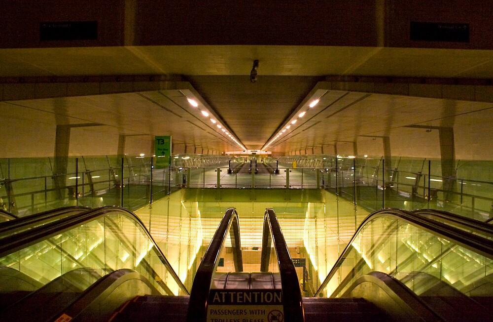 Escalators and Travelators by Keegan Wong