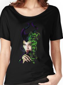 maleficent Women's Relaxed Fit T-Shirt