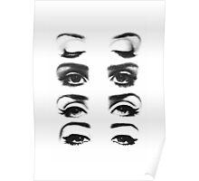 Lana's Eyes Poster