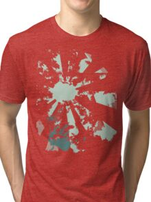camera blue Tri-blend T-Shirt