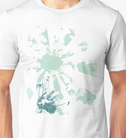 camera blue Unisex T-Shirt