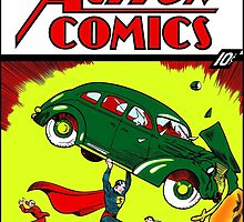 Superman Comic Book, 1938 - 1st Edition by BritishYank