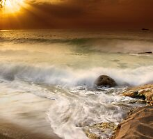 Golden Sea by Tony Elieh